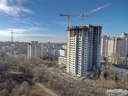 Как в Одессе застраивают 2-ю станцию Фонтана (ФОТО)