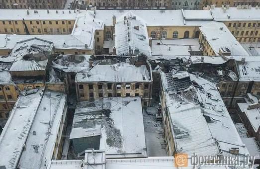 Подробности пожара Военно-морской академии им.Кузнецова