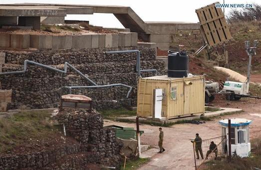 """Израиль перебросил к границе с Сирией """"Железный купол"""""""