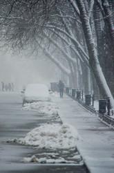Одесса под снегом (ФОТО)