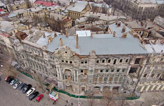 За реставрацию дома Руссова в Одессе возьмутся, как только станет тепло (ВИДЕО)