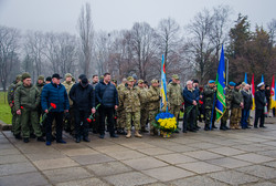 В честь Дня украинского добровольца в Одессе возложили цветы (ФОТО)