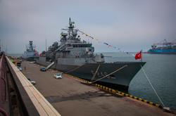 В Одессе гостит эскадра ВМФ Турции (ФОТО)