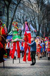 По Одессе прошла Юморина – гимн жизни, мира, добра и любви (ФОТО)