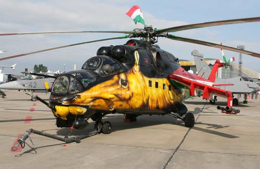 Для ВВС Венгрии готовят к передаче 4 вертолета Ми-24, отремонтированные в России