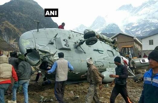 В Индии потерпел крушение вертолет Ми-17
