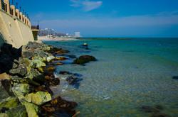 """Одесские пляжи на Фонтане """"съело"""" море (ФОТО)"""
