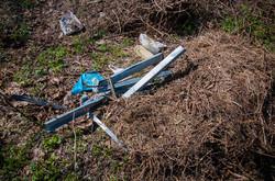 Одесские склоны у моря утопают в мусоре (ФОТО)