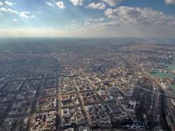 Пятнистое море и панорамы города: полет над Одессой на высоте в полкилометра (ФОТО, ВИДЕО)