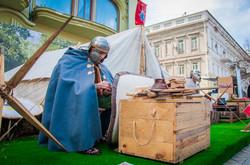 Главную улицу Одессы оккупировали римские легионеры (ФОТО)