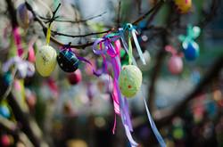 В одесском Горсаду появилось пасхальное дерево (ФОТО)