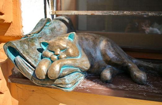 У Всемирного клуба Одесситов поселился кот Морис из семьи Жванецкого (ФОТО)