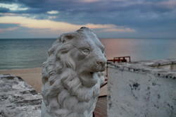 Одесское побережье вечером украсило фантастическое небо (ФОТО)