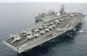 АУГ США на входе в Средиземное море