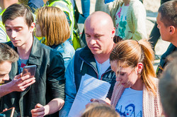 На Ланжероне активисты и собственники пляжного комплекса договорились насчет настила (ФОТО)