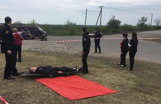 На трассе Одесса-Киев прошли учения по ликвидации последствий аварии (ФОТО)