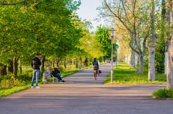 Вечерняя Одесса на Французском бульваре (ФОТО)