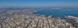 Великолепная апрельская Одесса с 500-метровой высоты (ФОТО, ВИДЕО)