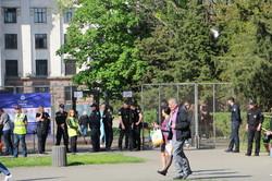 В Одессе полиция оцепила Куликово поле (ФОТО)