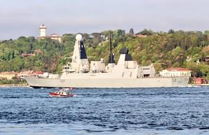 Группа военных кораблей вошла в Черное море