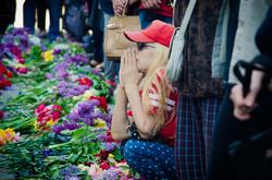 """Как одесские """"ватники"""" митинговали на Куликовом поле (ФОТОРЕПОРТАЖ)"""