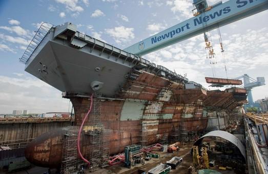 """США форсируют строительство суперавианосца """"Джон Кеннеди"""""""