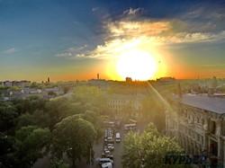 Цветущая Одесса с высоты птичьего полета (ФОТО)