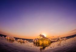 Начало нового дня на Ланжероне (ФОТО)