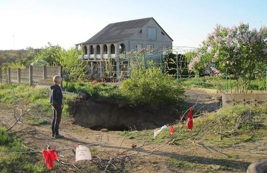 В окрестностях Одессы катакомбы проваливаются под землю (ФОТО)