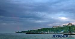 Облачный майский вечер на одесском побережье (ФОТО)