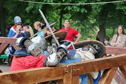 В Одессе в жестоких боях состязались рыцари (ФОТО)