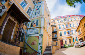 В Одессе появился новый арт-дворик в доме Бабеля (ФОТО)