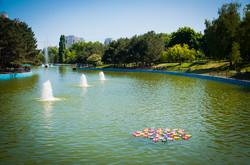 В одесском Парке Победы закончили чистить пруды (ФОТО)