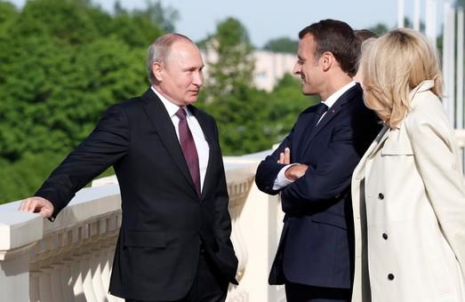 Встреча Макрона и Путина, а так же неприятное послевкусие
