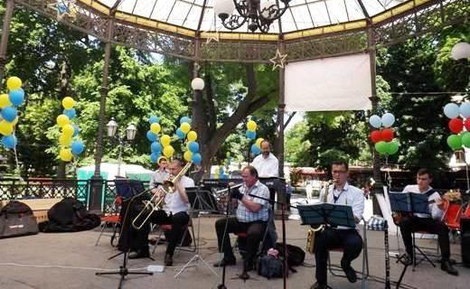 В Одессе прошел фестиваль садово-парковой культуры