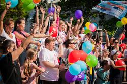 По Дерибасовской прошли любители мыльных пузырей (ФОТО)