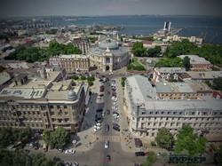 Первый квартал Ришельевской от Дерибасовской до Оперного