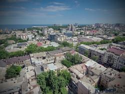 Панорама Одессы в сторону парка Шевченко