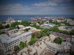 Начало улицы Дерибасовской и порт
