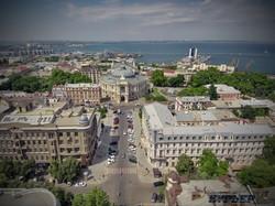 Оперный театр и первый квартал Ришельевской