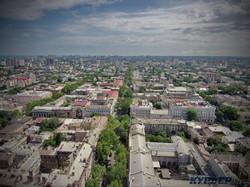 Перспектива улицы Ришельевской с высоты 100 метров