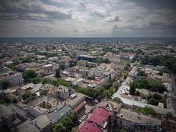 Перспектива улицы Дерибасовской в сторону Преображенского собора