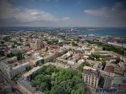 Вид на Одессу от Пале-Рояля в сторону Пересыпи