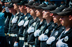 В Одессе торжественно выпустили новых полицейских (ФОТО)