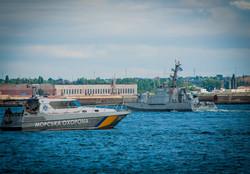 В Одессе включили в боевой состав ВМС Украины четыре новых бронекатера (ФОТО)
