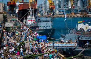 День флота в Одессе: люди и корабли (ФОТО)