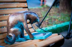 В Одессе появилась новая скульптура кота (ФОТО)