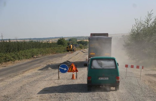 Одесская компания будет ремонтировать дороги в Харьковской области на 1,7 миллиарда гривен