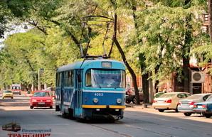 Как работают одесские трамваи после запуска движения по Преображенской
