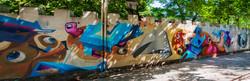 В центре Одессы художники создали еще один мурал (ФОТО)